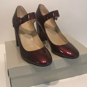 Marc Fisher Patent Mary Jane Pumps.  Size 9.